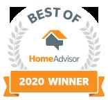 Best of HomeAdvisor 2020 Winner